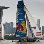 Act 9, Singapore - Day 1 - Red Bull Extreme Sailing