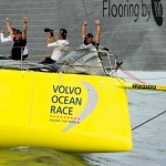 Volvo Ocean Race, VOR, 2014-15, Inport, Itajai, Team Brunel, winners