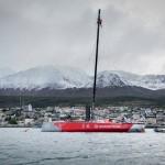 2014-15, Dongfeng Race Team, Leg5, OBR, VOR, Volvo Ocean Race, onboard, Ushuaia, landscape, mast, suspended racing