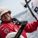 2014 - 15, Leg6, MAPFRE, OBR, Rafael Trujillo, VOR, Volvo Ocean Race, onboard, pedestal