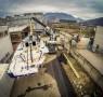 Arrival, GAC, Genoa, Italy, OBR, Ocean, Pindar, Race, Ship, VOR, Vestas, Volvo, transport, Volvo Ocean Race, Team Vestas Wind