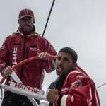 2014 - 15, Leg6, MAPFRE, OBR, Rob Greenhalgh, VOR, Volvo Ocean Race, Willy Altadill, onboard, helm, rain