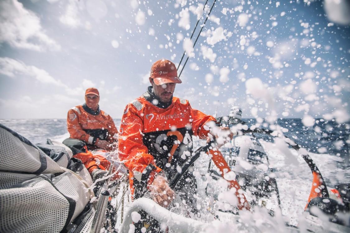 2014-15, Leg6, OBR, ONBOARD, TEAM ALVIMEDICA, VOR, Volvo Ocean Race, Alberto Bolzan, helm