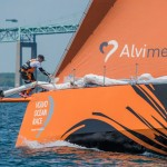 2014-15, VOR, Volvo Ocean Race, Leg7, Newport, Start, Team Alvimedica