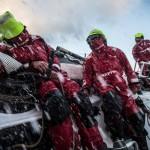 2014 - 15, Carlos Hernandez, Leg8, MAPFRE, OBR, Rafael Trujillo, Rob Greenhalgh, VOR, Volvo Ocean Race, onboard, splash, Bay of Biscay