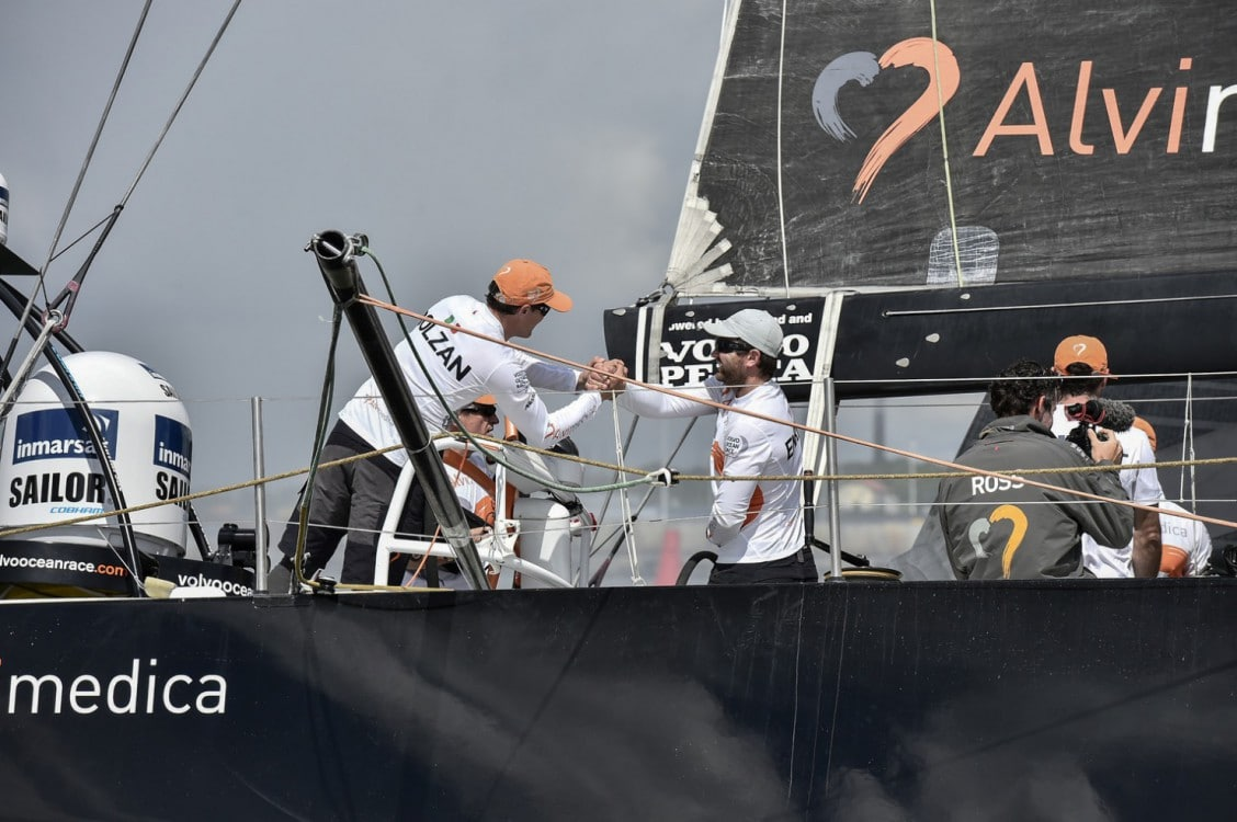 2014-15, VOR, Volvo Ocean Race, Gothenburg, Leg9, Arrivals, Team Alvimedica