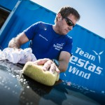Volvo Ocean Race, VOR, 2014-15, Team Vestas Wind, back, lisbon, boatyard, Tony Rae