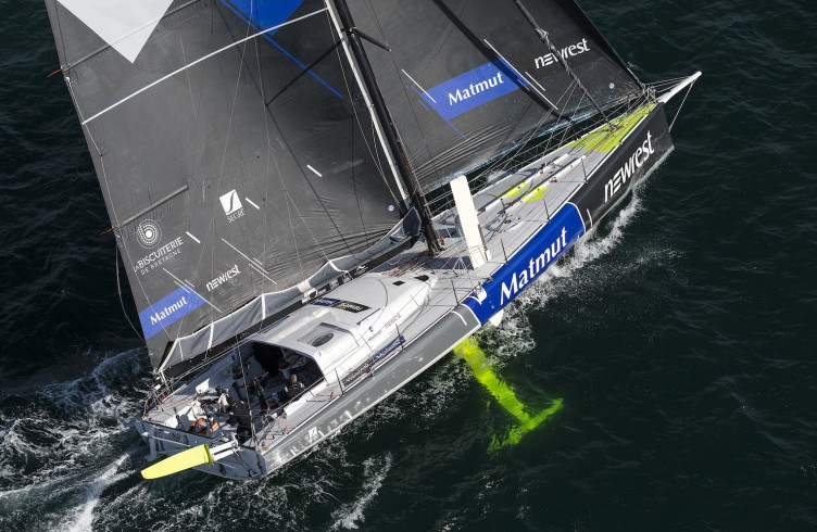 2015, TRANSAT JACQUES VABRE 2015, DOUBLE, IMOCA, NEWREST MATMUT 2015, AMEDEO FABRICE, PERON ERIC, 60 PIEDS