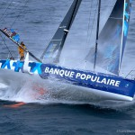 09-2015, OUTSIDE, ILE DE GROIX, FRANCE, IMOCA, OCEAN MASTER, MONOHULL, MONOCOQUE, BANQUE POPULAIRE VIII, ARMEL LE CLEAC'H, ERWAN TABARLY, HELI, TJV, groix