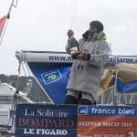 2016, ARRIVEE, ERIC BOMPARD, FIGARO, MACIF, SOLITAIRE BOMPARD LE FIGARO, VOILE, YOANN RICHOMME