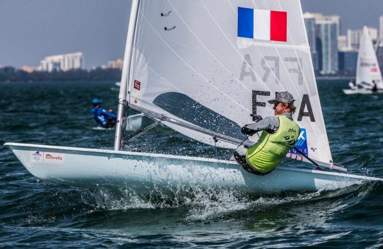 2017, Classes, FRA 209021 Jean Baptiste Bernaz FRAJB13, Jesus Renedo, Laser, Olympic Sailing, Sailing Energy, World Sailing, World Sailing's 2017 World Cup Series Miami