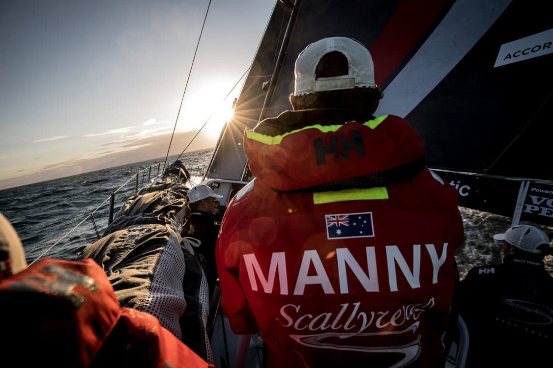 2017-18, David Mann, Leg Zero, Manny, Nature, On board, On-board, Pre-race, Rolex Fastnet Race, Sunset, Team Sun Hung Kai/Scallywag, Trimmer