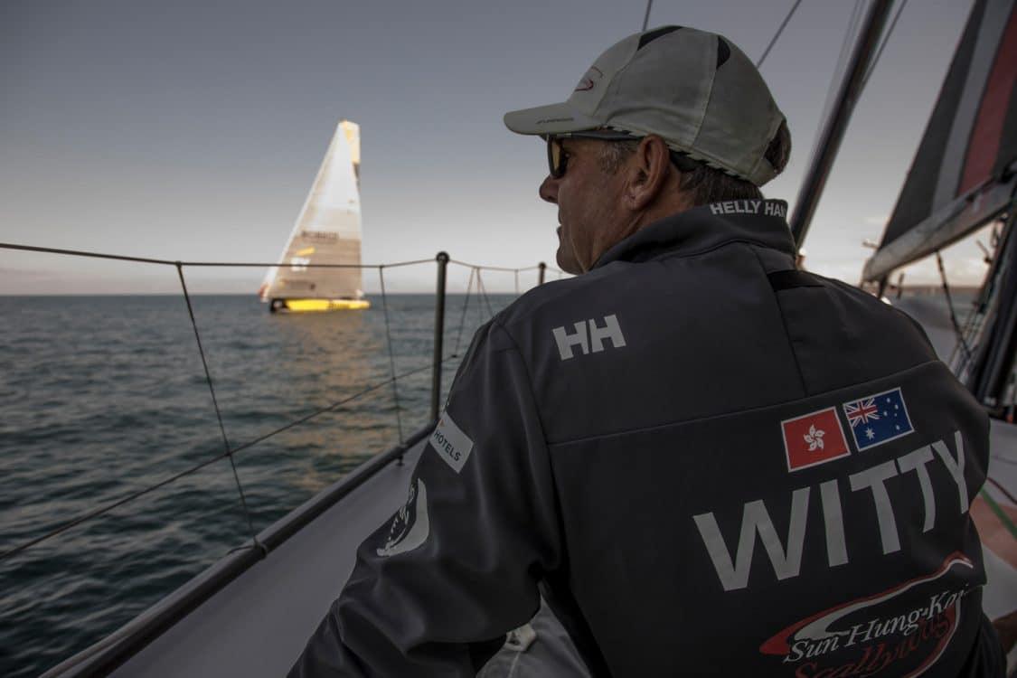 2017-18, David Witt, Leg Zero, On board, On-board, Pre-race, Skipper, St Malo to Lisbon, Team Sun Hung Kai/Scallywag, Witty