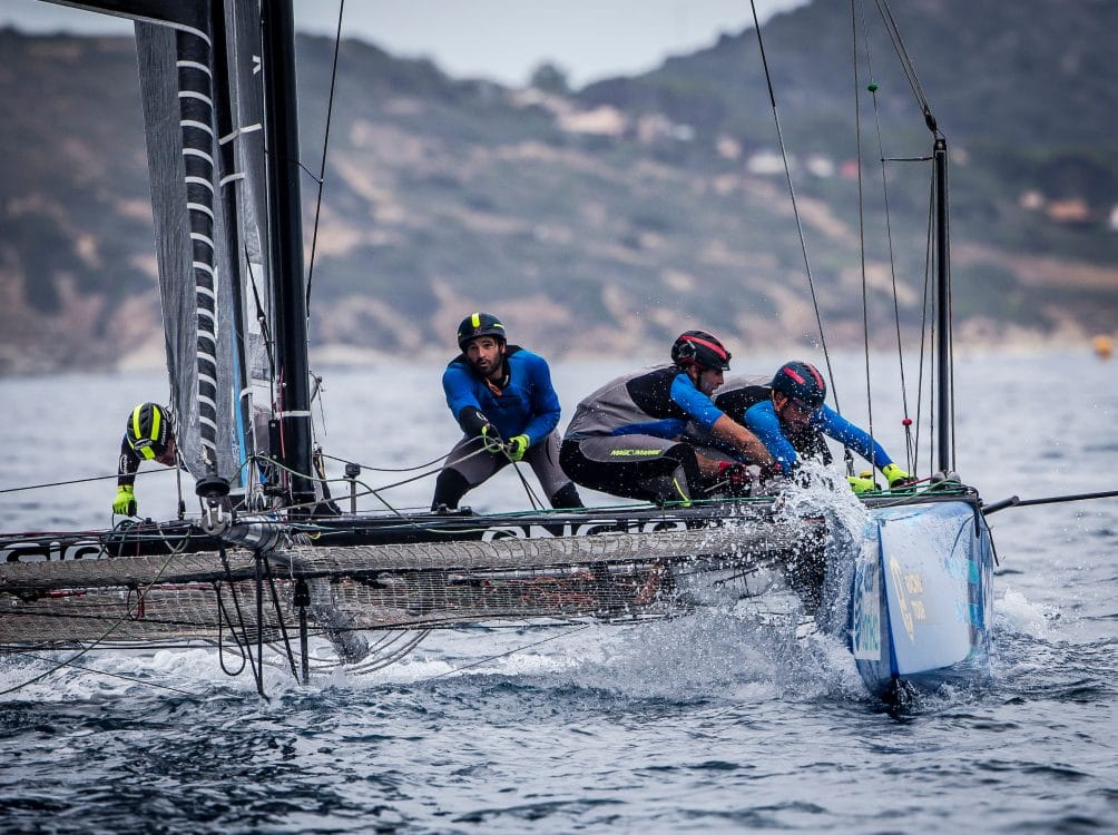 Extreme sailing, Fastest boats, GC32, GC32 Racing Tour, GC32 VILLASIMIUS CUP, Sardinia, TEAM ENGIE, Villasimius, catamaran, foiling, foiling catamaran, one design yacht, sailing, speed, yachting