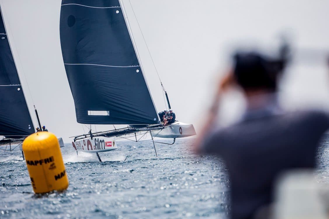 .FILM RACING, Copa del rey, Extreme sailing, Fastest boats, GC32, GC32 RACING TOUR - COPA DEL REY 2017, GC32 Racing Tour, Mallorca, catamaran, foiling, foiling catamaran, one design yacht, sailing, speed, yachting