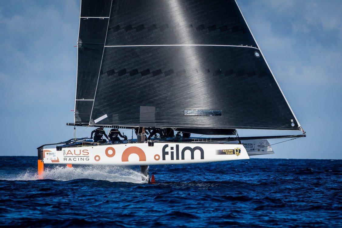 .FILM RACING, Calvi, Corsica, Extreme sailing, Fastest boats, GC32, GC32 Orezza Corsica Cup, GC32 Racing Tour, catamaran, foiling, foiling catamaran, one design yacht, sailing, speed, yachting