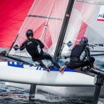 Aarhus, Aarhus Sailing Week, Classes, FRA 285 Moana Vaireaux Manon Audinet, Nacra 17, olympic classes, olympic sailing