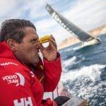 2017-18, Alicante-Lisbon, Detail, Joan Vila, Leg 01, MAPFRE, Navigator, On board, On-board, compass, handbearing compass, start, 2017-18 Leg 01, 2017-18 Leg 01 start, 2017-18 MAPFRE, 2017-18 MAPFRE Navigator Joan Vila, 2017-18 On-board, 2017-18 On-board Detail compass handbearing compass