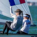 2017, 470 Women, Classes, FRA 22 Cassandre Blandin FRACB56 Aloise Retornaz FRARA10, Jesus Renedo, Olympic Sailing, Sailing Energy, World Sailing, World Sailing's 2017 World Cup Series Miami