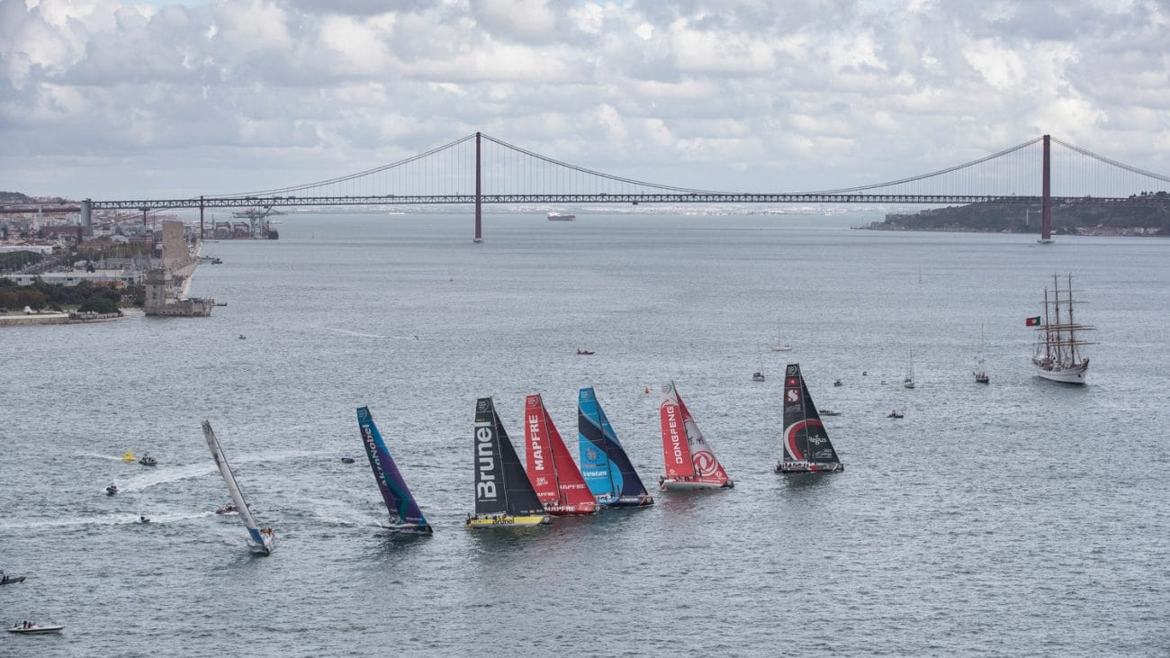 Fleet,Aerial,Bridge,Portugal,Lisbon,2017-18,port, host city,Kind of picture, The Mirpuri Foundation In-Port Race
