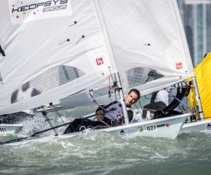 27 FRA 213607 Loïc Queyroux (M) Laser, Classes, Laser, Olympic Sailing, Sailing Energy, World Cup Series Miami, World Sailing