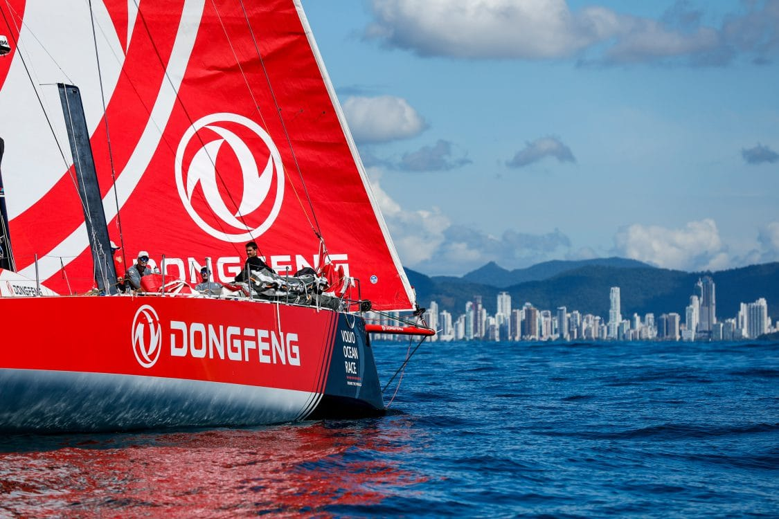 Leg 7,Commercial,Arrival,Dongfeng,NORTH SAILS,2017-18,Jeremie Beyou,Crew member,Auckland-Itajaí,Race Suppliers