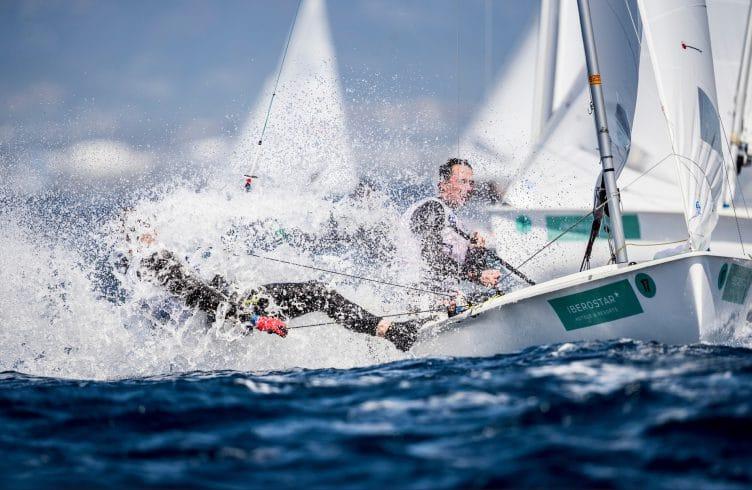 2018, 470 Men, FRA 17 470 Men FRA-79 Hippolyte MACHETTI Sidoine DANTÈS, Mallorca, Olympic sailing, Trofeo Princesa Sofia Iberostar