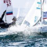470 W, CLASSES, ISR 11 20 Noya Bar-Am (W) Nina Amir 470 Women, Olympic Sailing, Sailing Energy, World Cup Series Hyeres, World Sailing