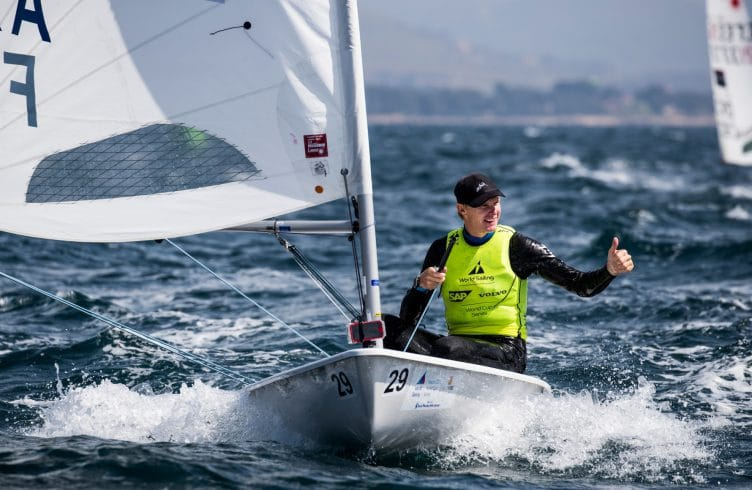 CLASSES, FRA 209021 29 Jean Baptiste Bernaz (M) Laser, LASER, Olympic Sailing, Sailing Energy, World Cup Series Hyeres, World Sailing